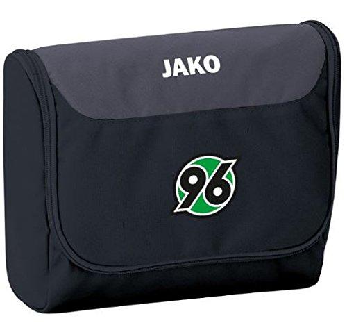 Jako Hannover 96 Kulturtasche Striker - schwarz/grau