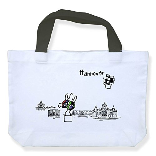 """Einkaufstasche """"Skyline Hannover"""" - als Geschenk für Hannoveraner & Fans der Niedersachsenmetropole oder als Hannover Souvenir - die stadtmeister"""